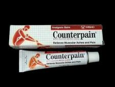 Buy 60 g COUNTERPAIN HOT ANALGESIC BALM WARM MUSCULAR PAIN RELIEVES ACHE