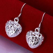 Buy Heart hollow out earring
