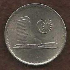 Buy MALAYSIA 5 Sen 1981 Coin - PARLIMENT HOUSE