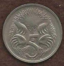 Buy Australia 5 Cents 1968 Coin