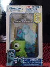 Buy NEW DISNEY PIXAR MONSTERS UNIVERSITY SCARY CLEAN SMILE SET*TOOTHBRUSH SET*SOFT*