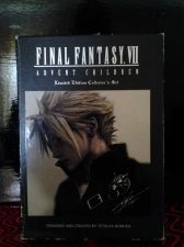 Buy FINAL FANTASY VII ADVENT CHILDREN LIMITED EDITON COLLECTOR'S SET*2-DVD SET*EUC*