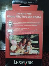 Buy LEXMARK P350 PHOTO KIT*UNOPENED*100 SHEETS OF PERFECTFINISH PHOTO PAPER & INK#45