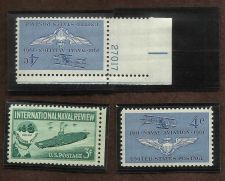 Buy US Stamps US NAVY Theme 1957 to 1961 Lot of 3 Mint Stamps