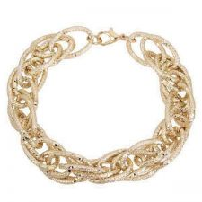 Buy Gold plated chain bracelet