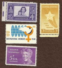 Buy US Stamps Women Theme 1948 to 1975 Lot of 4 Mint Stamps
