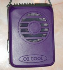 Buy Compact Necklace Battery FAN : Purple Color : Brand New : FAST S&h+Track in US