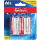 Buy 8-Pack Size AA Batteries by Sunbeam Company :Brand New : FAST S&h+Track in USA