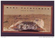 Buy USA Mars Pathfinder s/s mnh 1997
