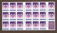 Buy USA LOVE booklet of stamps 32c. SWANS
