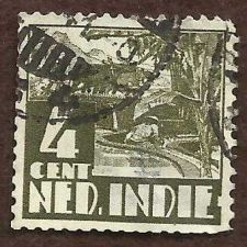 Buy Netherlands Indies Stamp 1933 Scott 169 A17 Four 4 Cent