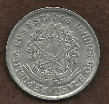 Buy Brazil 2 Cruzeiros 1961 Coin