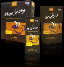 Buy Khao Shong Thailand's Coffee Bean Agglomerated Instant Coffee 45 g.Free Shipping