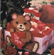 Buy Valentine Bear Plastic Canvas PDF Pattern Digital Delivery