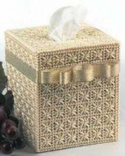 Buy Romantic Tissue Cover Plastic Canvas PDF Pattern Digital Delivery