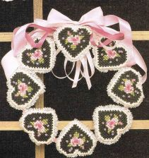 Buy Valentine Door Wreaths Plastic Canvas PDF Pattern Digital Delivery