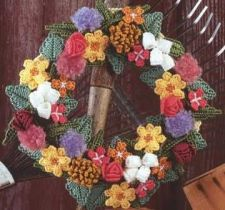 Buy Spring Door Wreaths Plastic Canvas PDF Pattern Digital Delivery