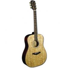 Buy Morgan Monroe Satin Quilt Ash Top Acoustic Guitar