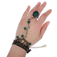 Buy Lace bracelet flower ring