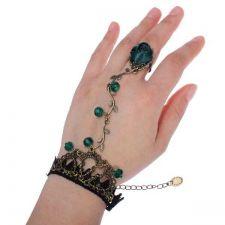 Buy Lace bracelet flower ring