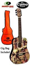 Buy Mossy Oak MO-34 Camo Steel String Guitar with Gig Bag