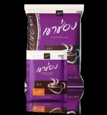 Buy Khao Shong 3 In 1 Cappuccino Powder Coffee Mix 20g x 25 Sticks Free Shipping