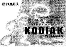 Buy Yamaha 5VH-F8199-60 Quad ATV Bike Manual by download #334531