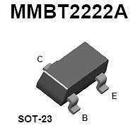 Buy SMT Transistor - MMBT2222 NPN (SOT-23) - 35 Pieces