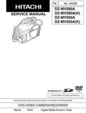 Buy Hitachi DZ-MV780A-2 Service Manual by download Mauritron #290134