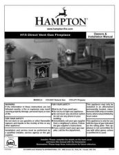 Buy Honeywell Hampton h15 install Operating Guide by download Mauritron #316798