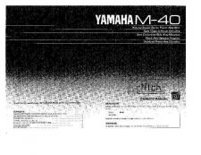 Buy Yamaha M-3 Operating Guide by download Mauritron #315317