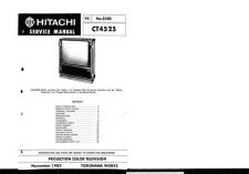 Buy Hitachi CT-5533K-2 Service Manual by download Mauritron #289666