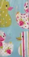 Buy SHOWER BATH CURTAIN CUTE LITTLE DUCK COTTAGE STYLE WATERPROOF FABRIC 180*180