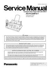 Buy Panasonic KMF0607016CE_KX-FC228FX-T Manual by download Mauritron #299427