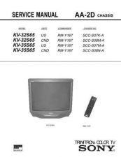 Buy Sony KV27XBR45 Service Manual by download Mauritron #333011