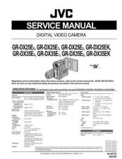 Buy JVC GR-DVX509SH Service Manual by download Mauritron #280770