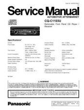 Buy Sharp CQ-C1103U Manual by download Mauritron #298118