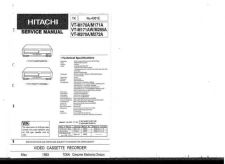 Buy Hitachi VT-M428E448E Service Manual by download Mauritron #285886