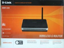 Buy D Link WBR 1310 4-Port 10/100 Wireless G Router switch wbr1310 dlink