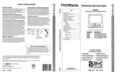 Buy Sharp TVCR324 Service Manual by download Mauritron #322695