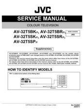 Buy JVC AV-32H5SA Service Manual by download Mauritron #279938