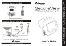 Buy Swann SECURAVIEW QUICKSTARTOLD Instructions by download #336453