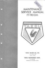 Buy Yaesu FT901DM Service Manual by download Mauritron #337766