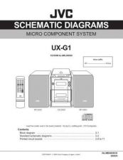 Buy JVC UX-G1-39 Service Manual by download Mauritron #277078