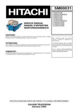 Buy Hitachi CL32WF535AN Service Manual by download Mauritron #288804