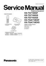 Buy Panasonic KX-TG1100ARS Manual by download Mauritron #300426