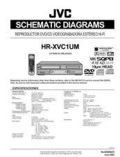 Buy JVC HR-XVC1UM sch Service Manual by download Mauritron #281471