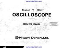 Buy Hitachi V1050F Operating Guide by download Mauritron #326724