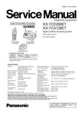 Buy Panasonic TCD290E Manual by download Mauritron #302060