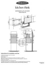Buy Hotpoint MWC45 Microwave Oven Operating Guide by download Mauritron #309948
